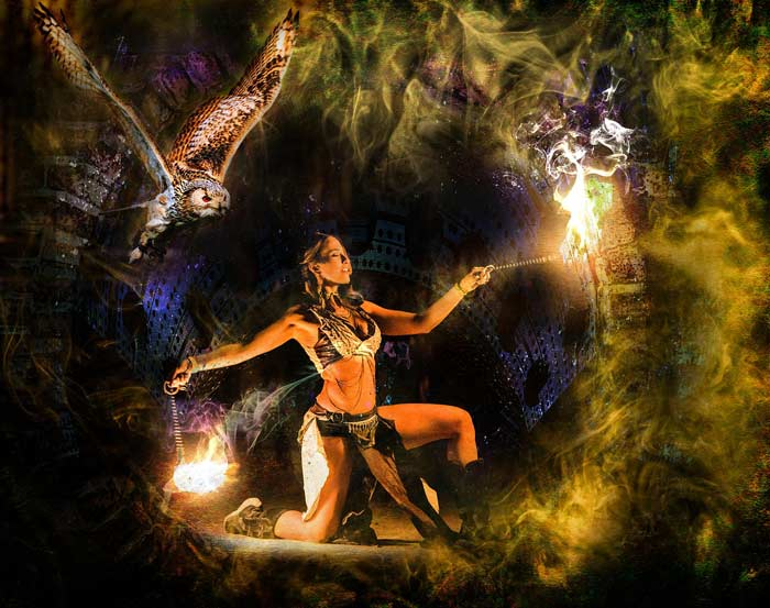 Cree mi oráculo Charms Estrella Gitana siguiendo las indicaciones de un sueño.